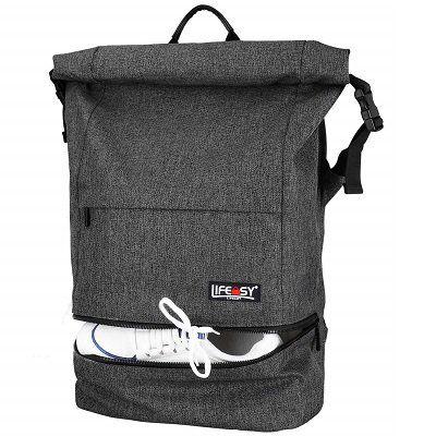 Lifeasy Laptop Rucksack aus Segeltuch für 19,99€ (statt 40€)