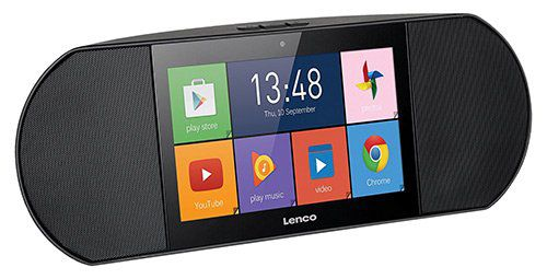 Lenco Di­ver­so 700GY tragbares High End In­ter­ne­tra­dio & Mul­ti­me­dia Cen­ter (7 Touch­screen, Android) ab 109€ (statt 135€)