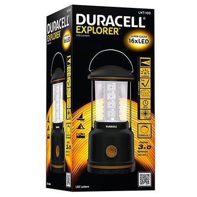 Duracell LNT 100   Camping Laterne Explorer für 12,12€ (statt 19€)