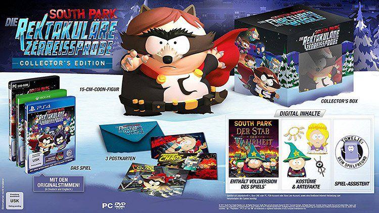 South Park: Die rektakuläre Zerreißprobe   Collector's Edition (Xbox One) für 44,90€ (statt 75€)