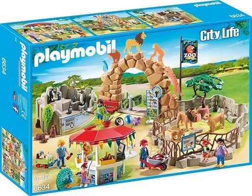 Playmobil City Life   Mein großer Zoo (6634) ab 32,94€ (statt 45€)