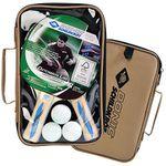 Donic-Schildkröt Tischtennis Set Series 400 im Carrybag mit 2 Schläger & 3 Bällen für 13,99€ (statt 20€)