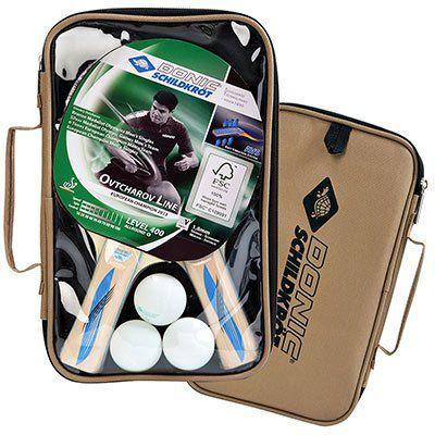 Donic Schildkröt Tischtennis Set Series 400 im Carrybag mit 2 Schläger & 3 Bällen für 13,99€ (statt 20€)
