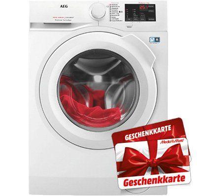 AEG L6FB54480 Waschmaschine (8 kg, 1400 U/Min., A+++) für 438,90€ (statt 478€) + 40€ Gutschein