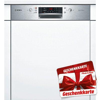 BOSCH SMI46CS02E Geschirrspüler (teilintegrierbar, 598mm breit, A++) für 464,90€ (statt 519€) + 40€ Gutschein
