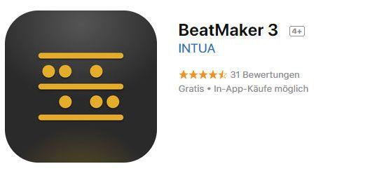 BeatMaker 3 (iOS) gratis statt 27,99€