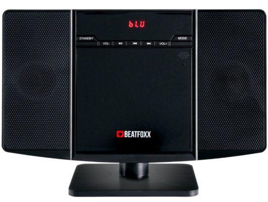 Beatfoxx MCD 60 Vertikale Stereoanlage mit CD/MP3 Player für 39,99€