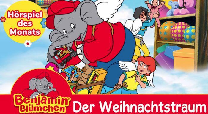 Benjamin Blümchen: Der Weihnachtstraum (Hörspiel) kostenlos