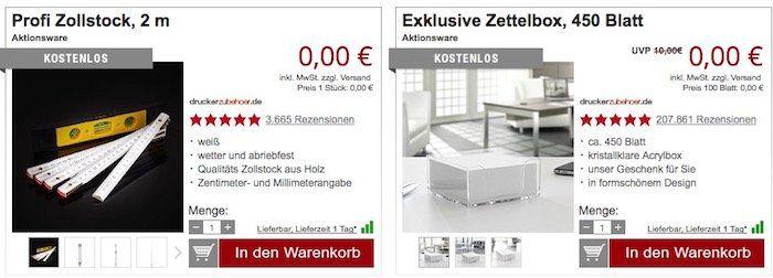 Gusseisen Wok Servierpfanne 28cm für 9,94€ (statt 18€) + gratis Zollstock und Zettelbox