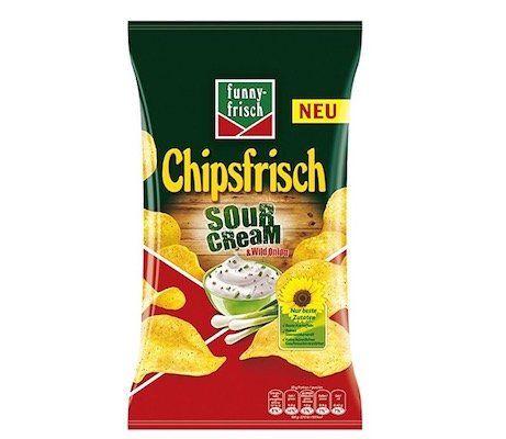 Knaller! 10 Tüten funny frisch Chips Sour Cream und Wild Onion ab 8,36€