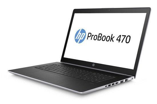 HP ProBook 470 G5   17,3 Zoll Full HD Notebook mit 256GB + 1TB + Win 10 Pro für 999€ (statt 1.169€) + 50€ Cashback