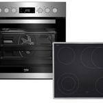 Beko BUM22320X Einbauherd-Set mit CERAN-Kochfeld für 375€(statt 434€)