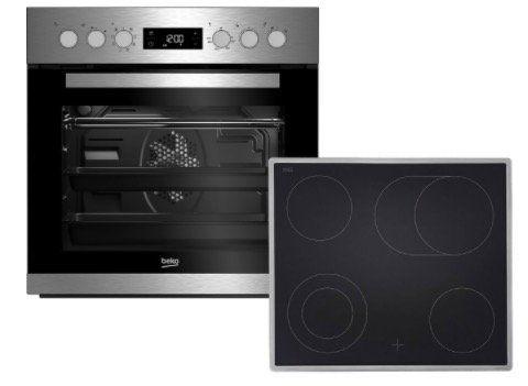 Beko BUM22320X Einbauherd Set mit CERAN Kochfeld für 375€(statt 434€)