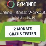 2 Monate Gymondo gratis testen + 5€ Amazon.de Gutschein*