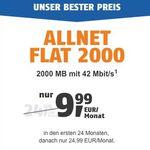 TOP! Telekom Allnet-Flat mit 2GB für nur 9,99€ mtl.