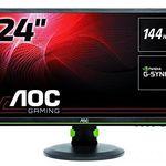AOC G2460PG – 24 Zoll Full HD Gaming-Monitor mit G-Sync für 299€(statt 369€)