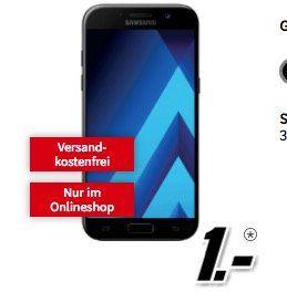 Samsung Galaxy A5 (2017) für 1€ + kleiner Vodafone Vertrag mit 250MB für 9,99€ mtl.