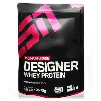 2,5kg ESN Designer Whey Protein für 35,55€ (statt 44€)