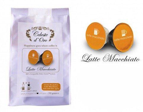 160 Stück Celeste d'Oro Latte Macchiato Kapseln für Dolce Gusto für 39,99€