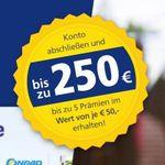 Bis zu 250€ Prämie für das Postbank Giro plus Girokonto – nur Neukunden (letzten 12 Monate kein Postbank-Konto)