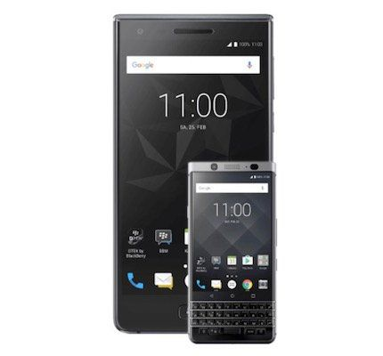 Knaller! Blackberry Motion + Blackberry KeyOne für 79€ (statt 909€) + Vodafone Flat mit 1GB für 24,99€ mtl.
