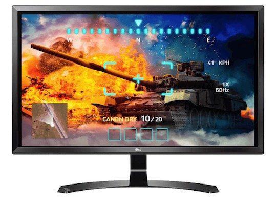 LG 27UD58 B   27 Zoll 4K Monitor für 349€ (statt 382€)