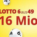 6 Lotto Felder 6 aus 49 für nur 1€ – nur Neukunden