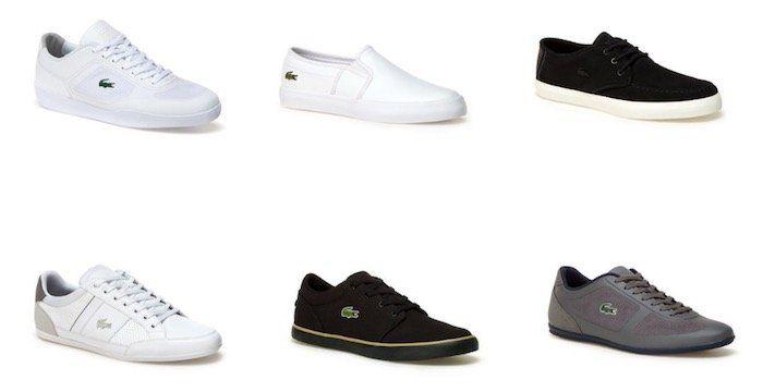 Lacoste Winter Sale mit bis zu  50% Rabatt + keine Versandkosten   z.B. Lacoste Misano Evo Sneaker für 69€ (statt 110€)