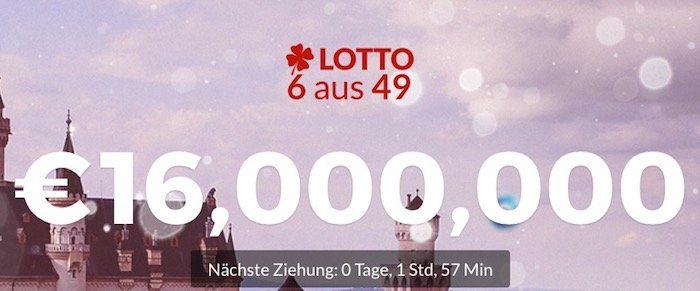 11 Lotto Tipps bei Multilotto für nur 4€ (16 Mio. Jackpot)   nur Neukunden