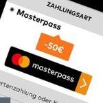 50€ Gutschein ab 100€ MBW für Rakuten, Alternate oder Notebooksbilliger bei Zahlung mit Masterpass