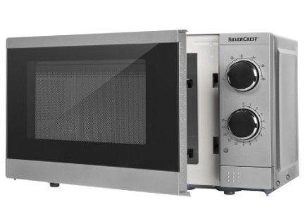 Silvercrest SMW 700 C1 Mikrowelle mit 700 Watt für 39,99€   nur bis 14 Uhr ohne Versandkosten