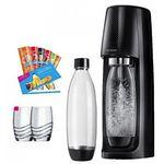 Sodastream Easy + 2 Flaschen + 2 Gläser + Proben + CO2 Zylinder für 58,53€ (statt 77€) [eBay Plus]