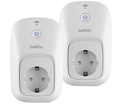 2er Pack Belkin WeMo Switch Smarthome Funksteckdosen für 45,90€ (statt 70€)