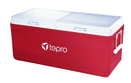 Ausverkauft! Tepro Kühlbox 150 in Rot für nur 66€ (statt 179€)