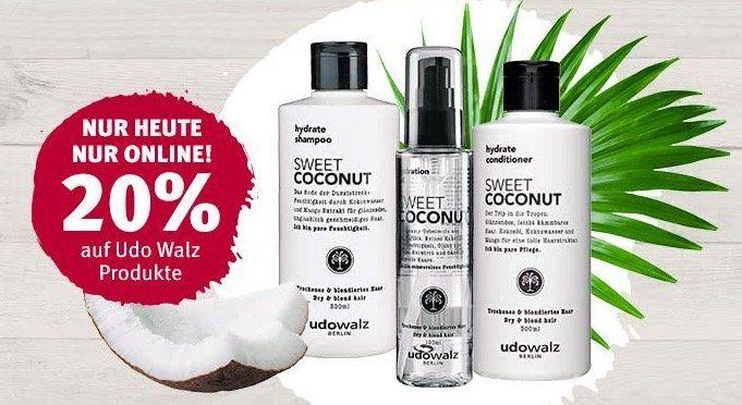20% Rabatt auf Udo Walz Produkte bei Rossmann
