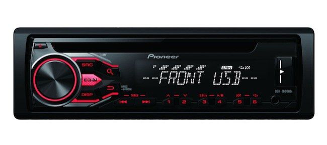 Pioneer DEH 1800UB Autoradio (1 DIN, 50 Watt) für 38€ (statt 66€)