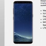 Ay Yildiz Ay Allnet Plus mit 8GB LTE + Türkei-Flat für 29,99€ mtl. + Samsung Galaxy S8 für 4,95€
