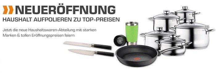 Viele Pfannen, Töpfe...etc. stark reduziert   z.B. Silit Salatschleuder nur 9€ (statt 19€)