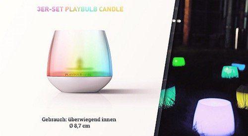 MiPow Smarthome Stimmungslichter bei vente privee   z.B. Playbulb String LED Lichterkette für 29€