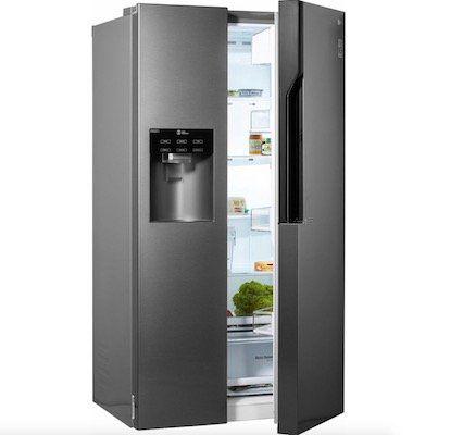 LG GSL 360 ICEZ Amerikanischer Side-by-Side Kühlschrank mit ...