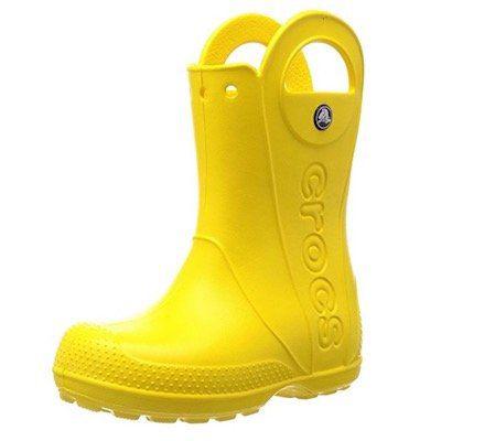 crocs Unisex Kinder Handle It Rain Boot Gummistiefel ab 8,97€ (statt 25€)