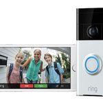 Ring 8VR1S5 Video-Türklingel mit 720p und WLAN für 95€(statt 129€)