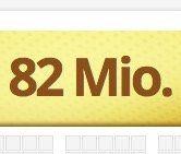 3 Felder Eurojackpot mit 82 Millionen im Pott für nur 2,20€ für Lottohelden Neukunden