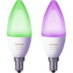 Philips Hue White and Color Ambiance E14 LED Kerze für 33€ (statt 43€)