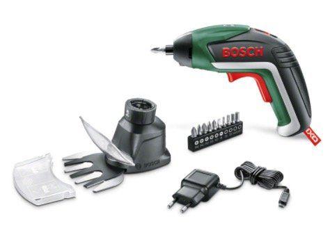 Bosch IXO V + Gras  und Strauchscherenaufsatz für 29,99€ (statt 40€)