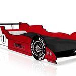 Deuba Formel 1 Kinderbett in 90×200 cm inkl. Lattenrost für 109,95€ (statt 140€)