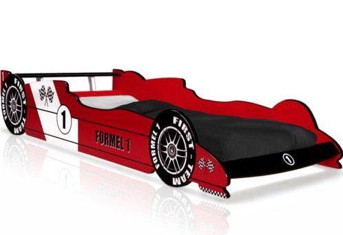 Deuba Formel 1 Kinderbett in 90x200 cm inkl. Lattenrost für 109,95€ (statt 140€)