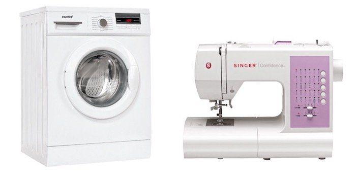 Saturn: Waschpflege Schnäppchen zu Bestpreisen   z.B. Singer Nähmaschine nur 179€ (statt 199€) oder Grund Trockner nur 599€(statt 679€)