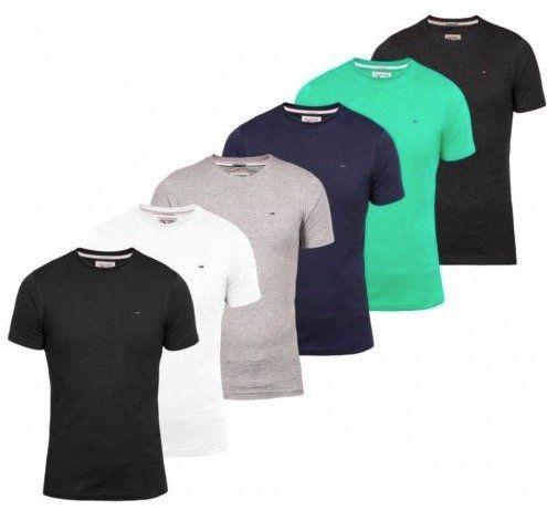 Tommy Hilfiger Denim T Shirts mit Rundhals oder V Neck für 15,90€ (statt 22€)