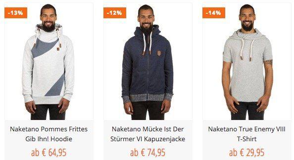 Blue Tomato mit 3 für 2 Aktion + VSK frei   z.B. Naketano Boys Are Krass II Sweaterfür 39,95€ (statt 50€)